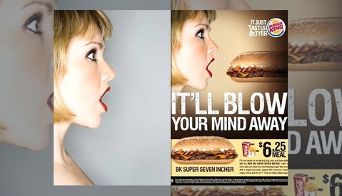 """UPDATED: Performance Artist Claims Burger King Stole and """"Digitally Raped"""" Her Face"""