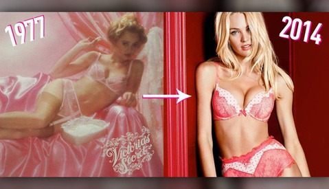 The Victoria's Secret Catalog: Then and Now