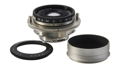 Voigtlander Releases a Quirky Little 40mm f/2.8 Heliar Pancake Lens
