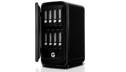 G-Technology Shows Off the Gargantuan 8-Bay 64TB G-Studio XL