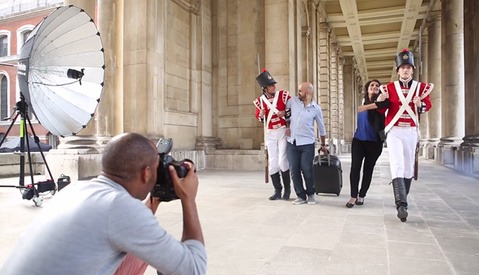 Behind the Scenes with Simeon Quarrie in a One of a Kind Period Drama Shoot