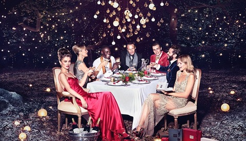 Go Behind the Scenes of Tom van Schelven's Molton Brown Christmas 2014 Campaign Shoot