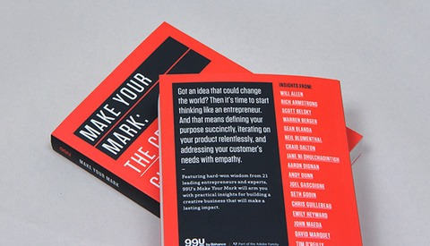 "Latest 99U Book ""Make Your Mark"" Investigates Finding Success In Creative Businesses"