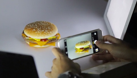 Shooting a Fast Food Ad with an iPhone