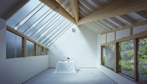 Beautiful Japanese Photography Studio Designed to Harness Ambient Light