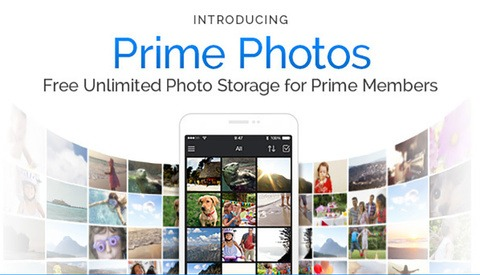 Amazon Announces Free Unlimited Photo Storage for Prime Members