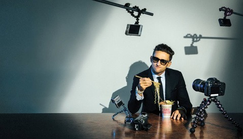 Go Behind the Scenes at Resource Mag's Cover Shoot with Casey Neistat