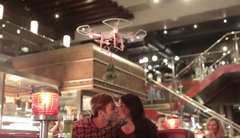 TGI Fridays Drone Injures Photographer