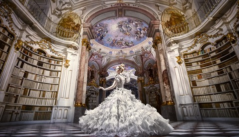 Fairytale Comes to Life in These Dazzling Photos from the World's Largest Monastic Library in Austria