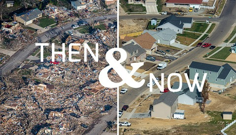 Then and Now Photo Series Showcases Tornado Devastation and a Community's Endurance