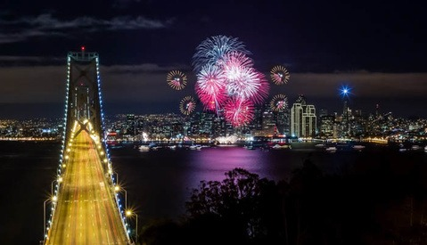 How to Nail Your New Year's Firework Photos and Blend Them in Photoshop