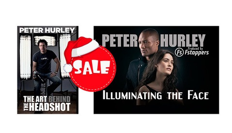 24 Hours Only: Save $100 Off Peter Hurley's Headshot and Lighting Tutorials