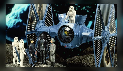 Rolling Old School: Original Star Wars Toy Photography