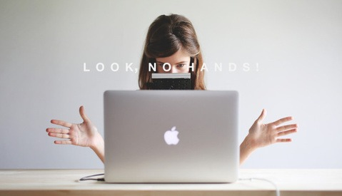 Graphic Designer Uses Manfrotto Tripod and Apple Magic Trackpad to Work Hands-Free
