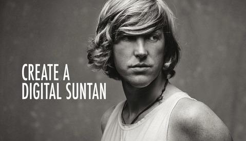 How to Create a Digital Suntan in Lightroom