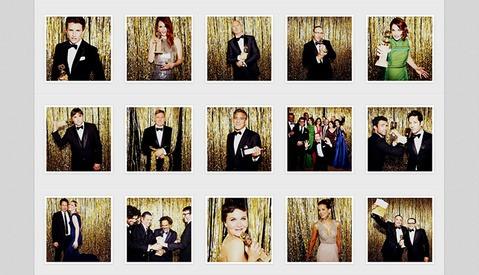 Ellen Von Unwerth Captures the Golden Globes with a Simple Photo Booth