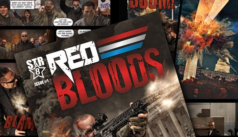 Red Bloods: Photographer Jason Swarr Releases Amazing Composite Comic Book