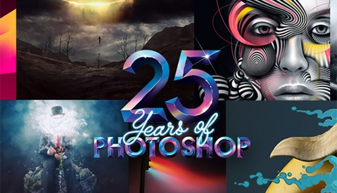 A Look Through The Years - Adobe Photoshop Turns 25