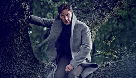 Behind-the-Scenes Photo Shoot with Benedict Cumberbatch for Vanity Fair