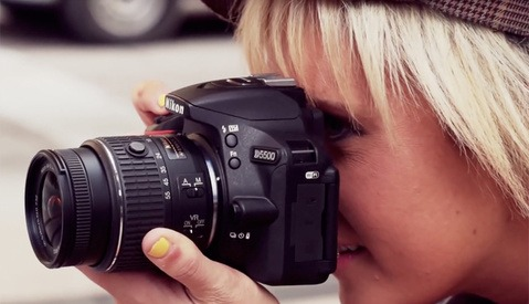 Shooting the Nikon D5500 Campaign with (Gasp!) a Nikon D5500