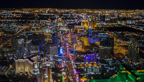 Vincent Laforet Adds Las Vegas to His New High-Altitude Series Along with Lofty Goals for Social Interaction