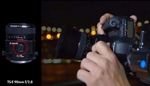 Vincent Laforet Explains How to Use a Tilt-Shift Lens