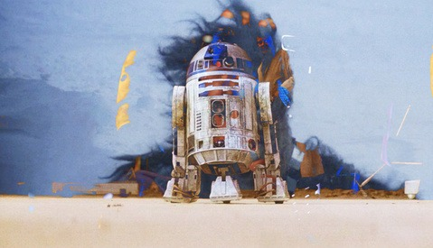 All Six Star Wars Films at Once is a Trippy, Nerdy Experience Fit for a Gallery Installation