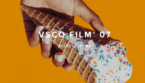 VSCO Releases Film 07 – The Eclectic Films Collection