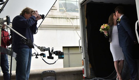 Joe McNally and The Nikon Wedding Truck Offer Free Wedding Portraits to NYC Couples