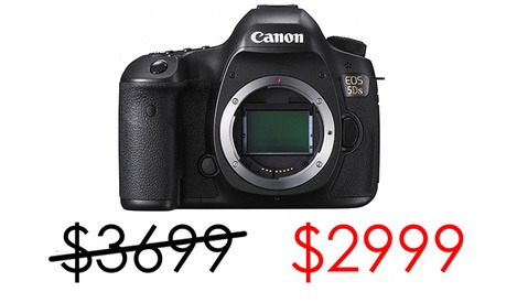 Crazy Sale: Save $700 on the New 50 Megapixel Canon 5Ds DSLR Camera