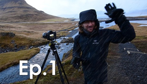 Photographing The World BTS ep1: Fstoppers Arrives In Iceland