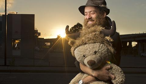 Aaron Draper Takes Stunning Photos of Homeless