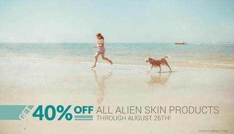 Alien Skin Products Are 40% Off Through August 26th