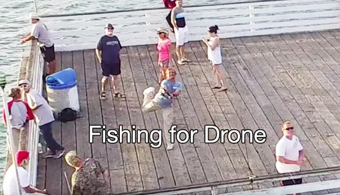 Disgruntled Fisherman Hooks a Drone While The Love-Hate Debate Over Drone Use Rages On