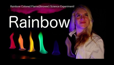 Add Rainbow Colored Flames to Your Photography Using Everyday Household Items