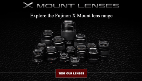 Fuji X Mount Lenses App Lets You Test and Compare Lenses Without Leaving Your Couch