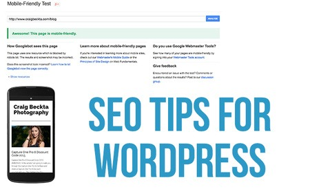SEO Tips for Photographers Using WordPress