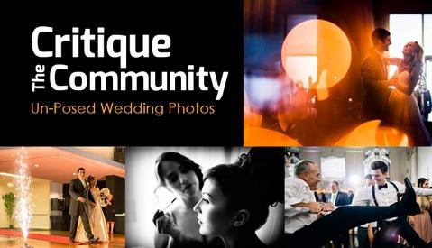 Critique the Community Episode 6a: Un-posed Wedding Photographs
