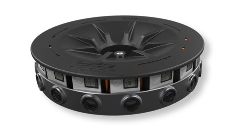 GoPro Announces Details On Their New Professional Virtual Reality Camera