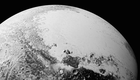 First Close-Up Images of Pluto Downloaded from New Horizons and Released
