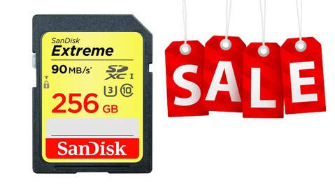 Check Out These Amazing Deals On Memory From SanDisk