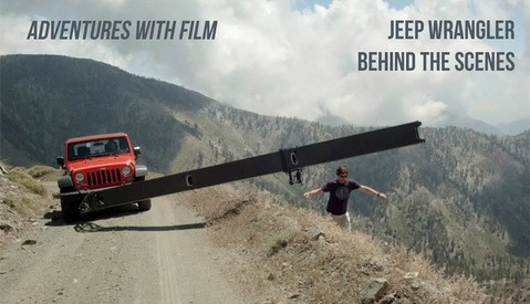 Watch Dave Hill Shoot a Gorgeous New Jeep Ad with Film