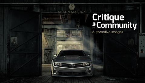 Critique the Community Episode 8: Automotive Images