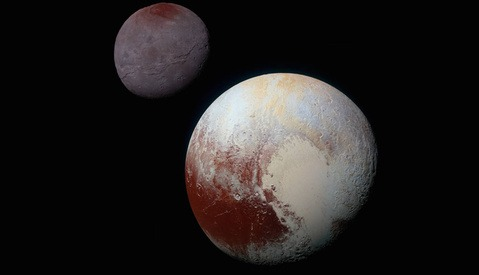 NASA Releases Gorgeous Color Photos of Pluto's Moon, Charon