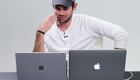 Surface Book Vs MacBook Pro 15, MacBook Twice As Fast
