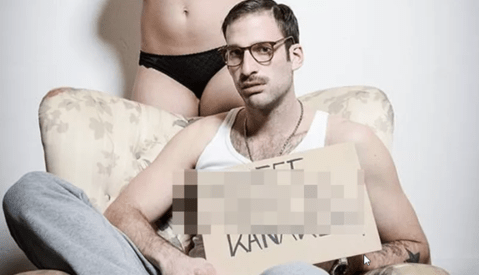 [NSFW] German Photographer Is Using Breasts to Silence Hate Speech