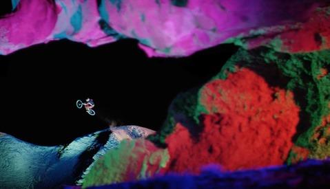 BTS: Go Behind the Epic Technicolor Mountain Biking Production of 'DARKLIGHT'