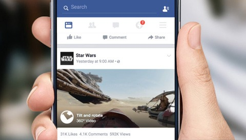 You Can Now Upload Your Virtual Reality Videos to Facebook