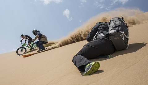 Behind the Scenes with Photographer Craig Kolesky Shooting Skiing and Biking in the African Desert