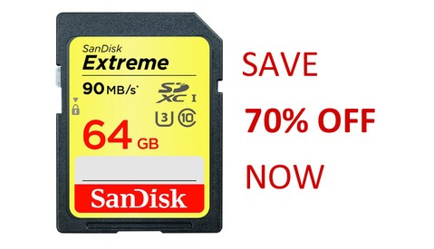 There is a Fantastic Black Friday Deal on SanDisk Memory Cards on Amazon Right Now
